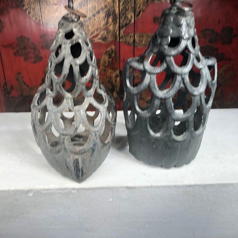 Iron Japanese Rare Pair of