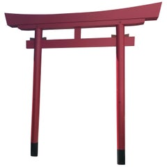 Japanese Full Scale Red Torii Garden Gate