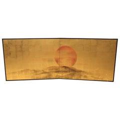 Japanese Rising Sun Screen