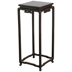 Japanese Rosewood Plant Stand or Drink Table