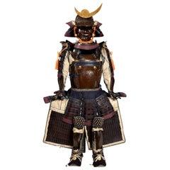 Japanese Samurai Armor in Sendai Style, Mid-Edo Period, 18th Century