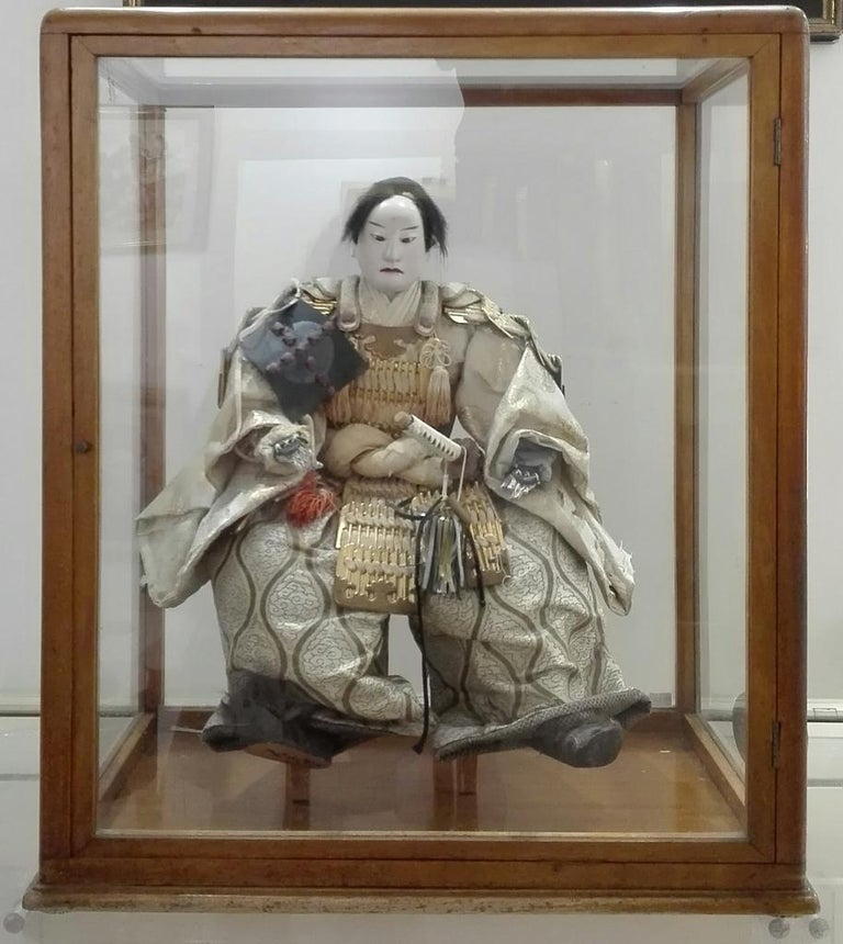 Japonisme Japanese Samurai Doll, End of 18th Century For Sale