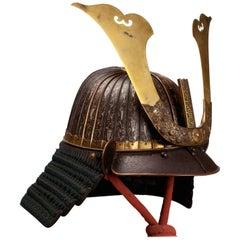 "Japanese Samurai Helmet 'Kabuto' Signed ""Soshu-Ju Myōchin Jo"", Momoyama Period"