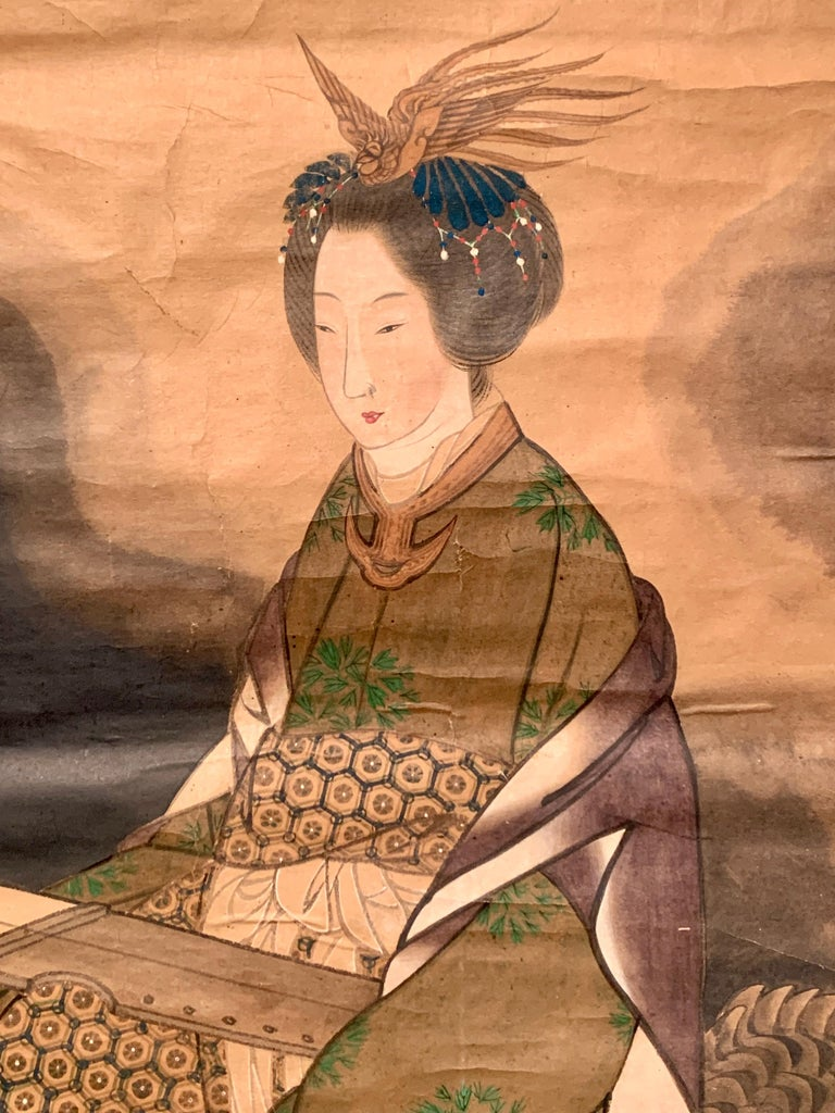 Early 20th Century Japanese Scroll Painting