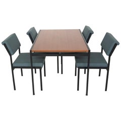Japanese Series Dining Table TU11 and Chairs SM07 by Cees Braakman for Pastoe