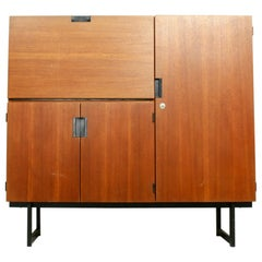 Japanese Series Highboard by Cees Braakman for Pastoe, the Netherlands, 1960s
