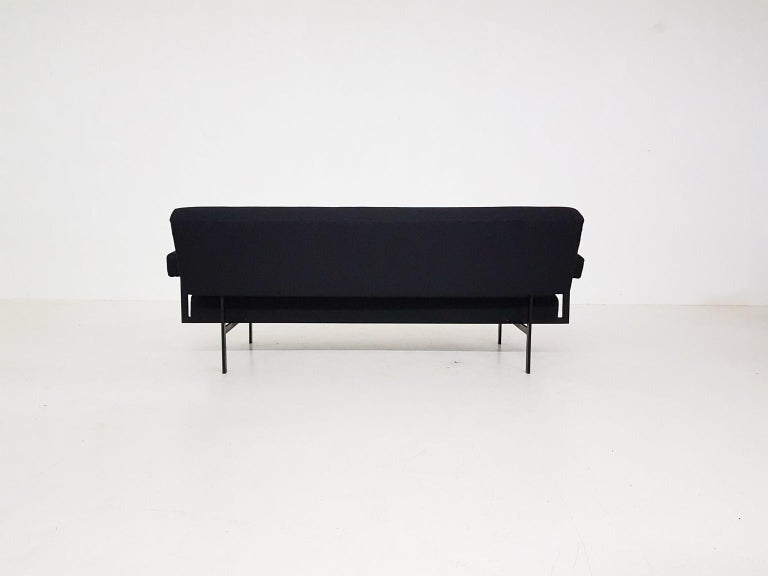 Japanese Series MM07 Sofa by Cees Braakman for Pastoe, Dutch Modern Design, 1958 In Good Condition For Sale In Amsterdam, NL