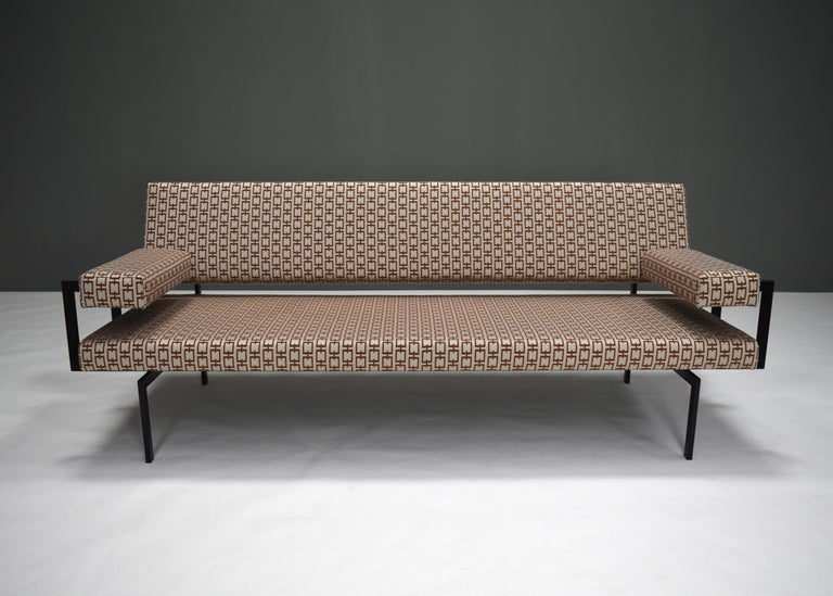 Mid-Century Modern Japanese Series Sofa by Cees Braakman for Pastoe, Netherlands, 1950s For Sale