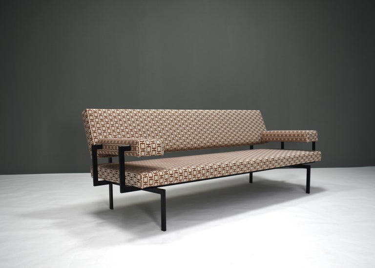 Dutch Japanese Series Sofa by Cees Braakman for Pastoe, Netherlands, 1950s For Sale