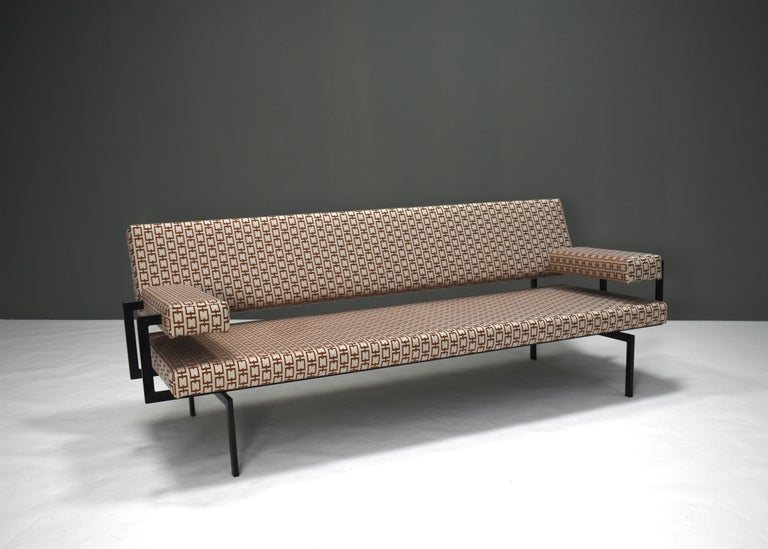 Japanese Series Sofa by Cees Braakman for Pastoe, Netherlands, 1950s In Good Condition For Sale In Pijnacker, Zuid-Holland