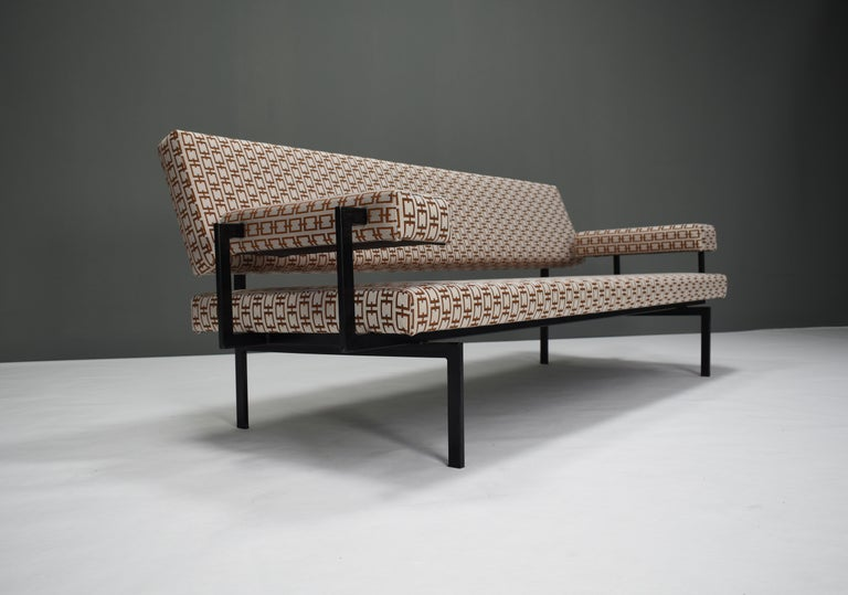 Mid-20th Century Japanese Series Sofa by Cees Braakman for Pastoe, Netherlands, 1950s For Sale