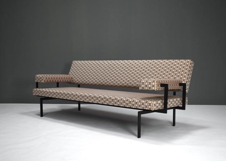 Lacquer Japanese Series Sofa by Cees Braakman for Pastoe, Netherlands, 1950s For Sale