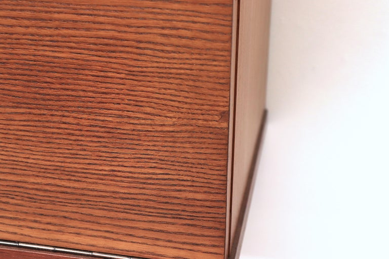 Japanese Series Teak Wall Mount Cabinet for Pastoe For Sale 7