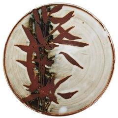 Japanese Shoji Hamada Inspired Bamboo Studio Plate