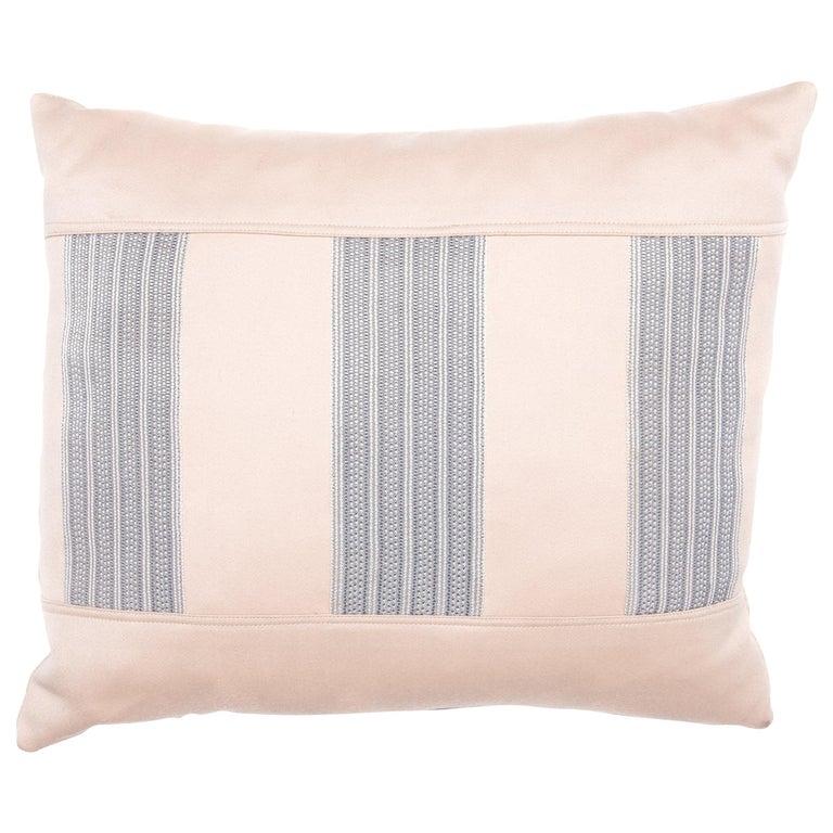 Japanese Silk Obi Pillow For Sale