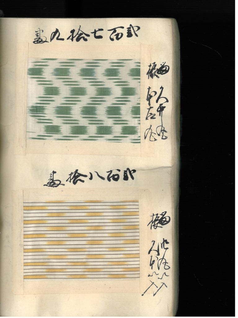 Japanese Silk Textile Swatch Book 'Late 19th Century', Book For Sale 5