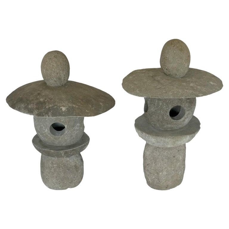 Japanese Stone Lanterns For Sale