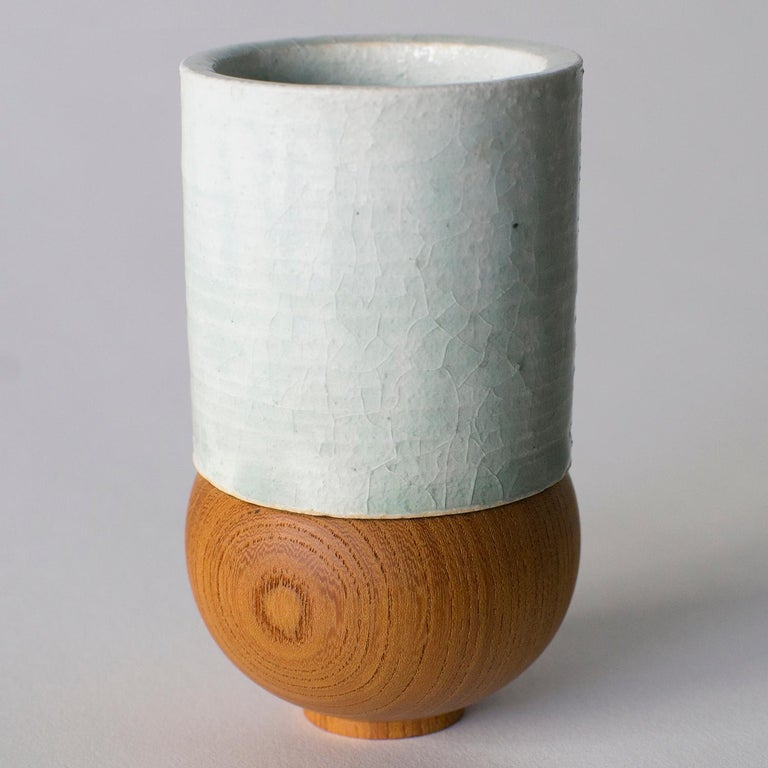 Japanese Style Ceramic Cup Takuya Hamajima Contemporary Zen For Sale 1