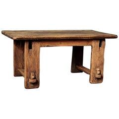 Japanese Style Mingei Coffee Table