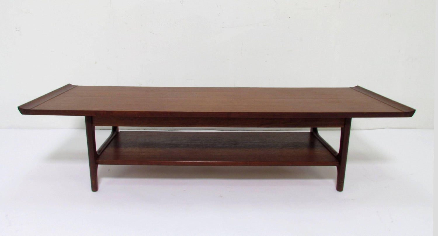 Japanese Coffee Table.Japanese Teak Coffee Table In The Danish Modern Style Circa 1960s