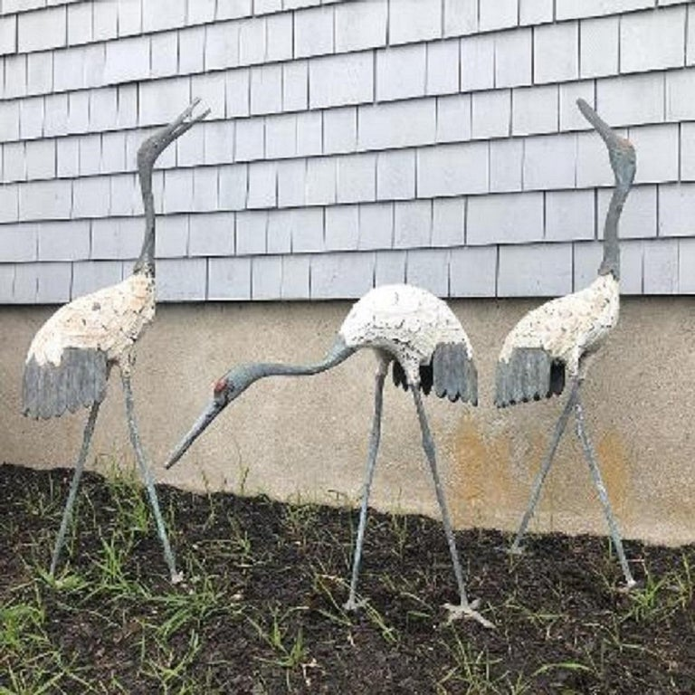 Japanese Three Hand Cast Bronze