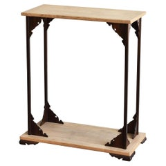 Japanese Traditional Design Exhibition Stand / Japanese Old Wooden Shelves