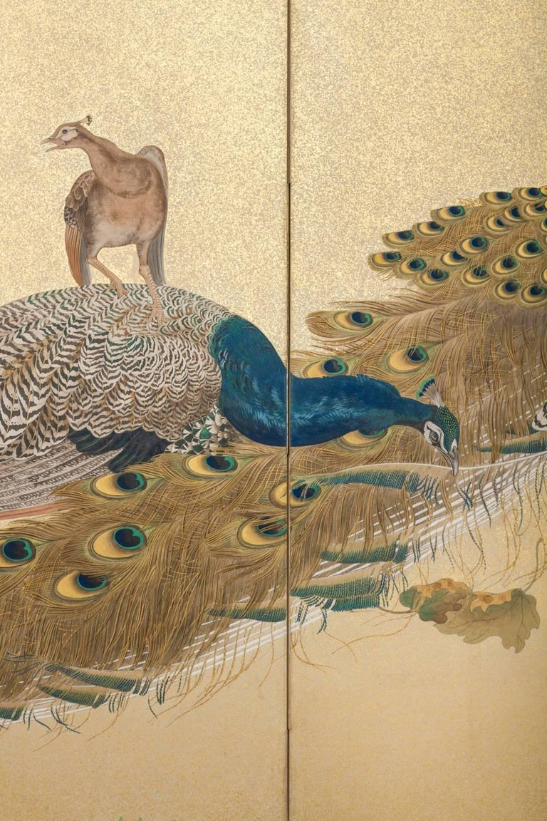 Signed Hosetsu. Taisho period painting, circa 1920