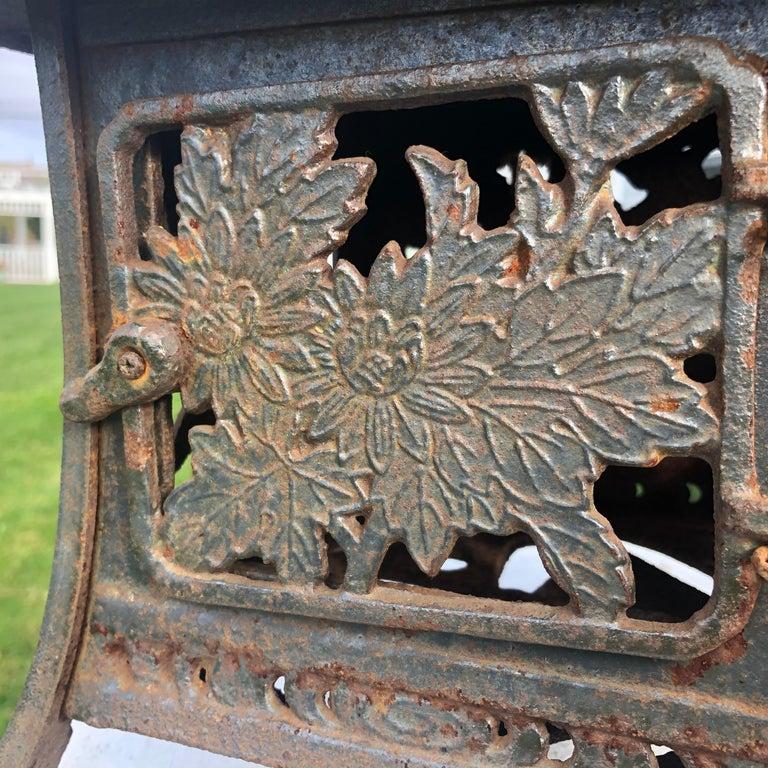 Showa Japanese Unique Old Hand Cast Bronze