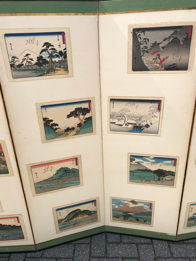 Showa Japanese Vintage After Hiroshige