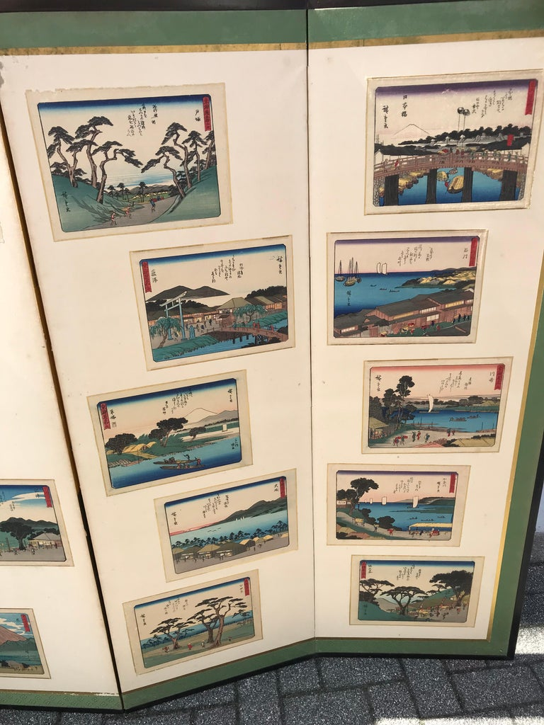 Hand-Crafted Japanese Vintage After Hiroshige