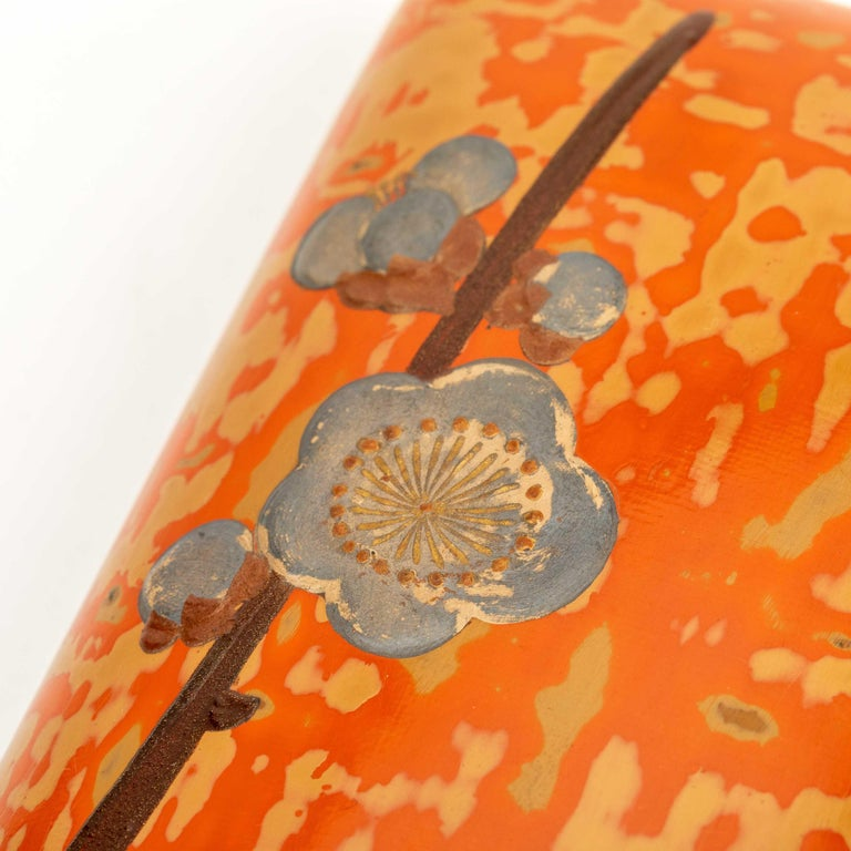 Japanese Wakasa Lacquer Folder for Poems and Paintings For Sale 5