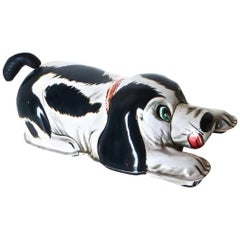 Japanese Wind up Toy Dog, by Nomura, Japan, circa 1960