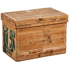 Japanese Wooden Tea Box