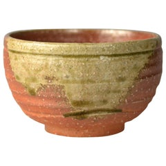 Japanese Woodfired Handmade Matcha Tea Bowl by Takahashi Rakusai IV
