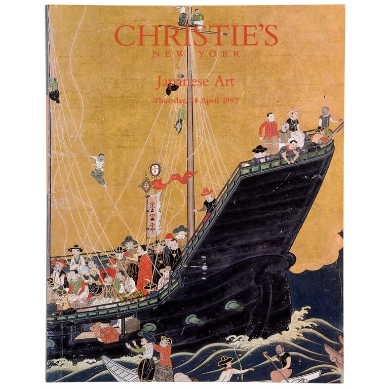 Japanese Works of Art, Christie's Auction Catalogue, NY, 1997 For Sale