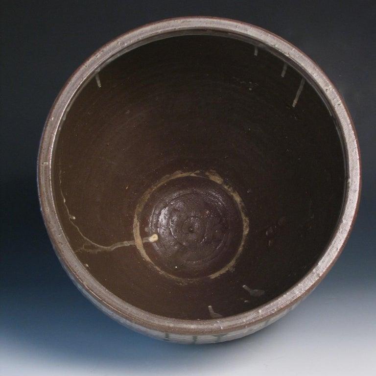 Early 19th Century Japanese Yumino Wax Bean Storage Jar, For Sale