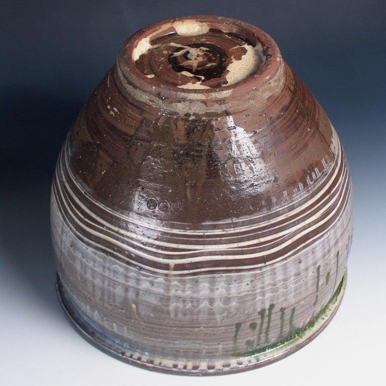 Ceramic Japanese Yumino Wax Bean Storage Jar, For Sale