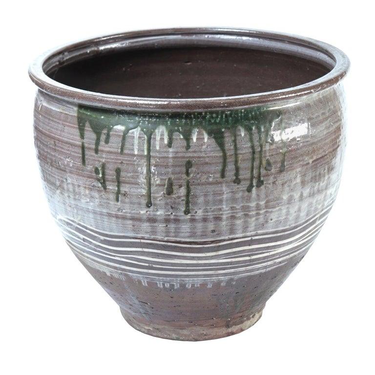 Japanese Yumino Wax Bean Storage Jar, For Sale