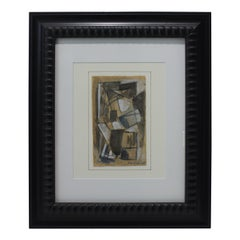 Jaques Villon Cubist Painting