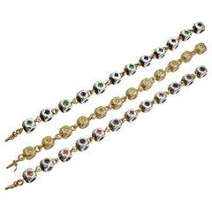 JAR Convertible Cube Necklace Bracelet Suite