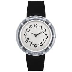 JAR Metropolitan Museum of Art Collection Vintage Black White Watch