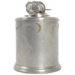 Jar, Pewter and Brass, Sweden, 1930s