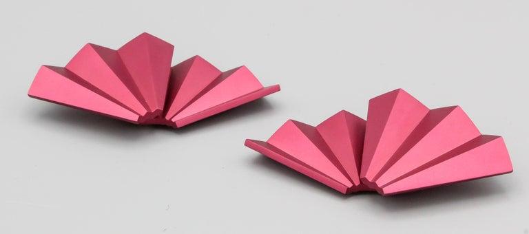 JAR Rose Aluminum Fan Earclips For Sale 1