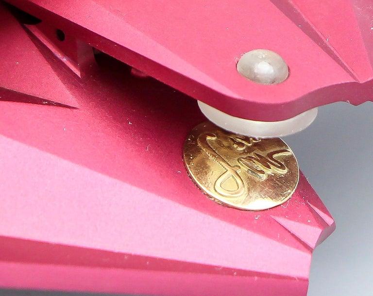 JAR Rose Aluminum Fan Earclips For Sale 2