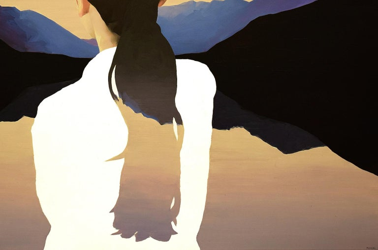 Caspar's Daughter - Painting by Jarek Puczel