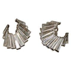 Jarin K Baguette Crescent Earrings
