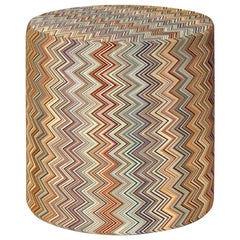 Jarris Browns Cylinder Pouf