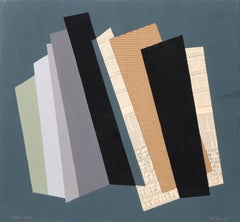 """Abstract Geometric Collage """"City Scapes III"""" by Jasha Green"""