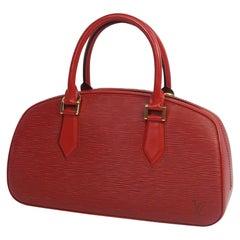 Jasmine  Womens  handbag M52087  castilian red Leather
