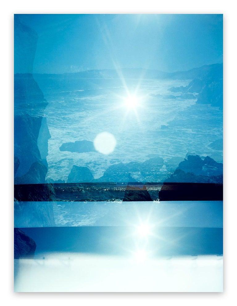 Jason Engelund Abstract Photograph - Coastal Memory 104 (Abstract photography)